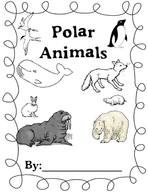 c kindergarten a little whining polar animals and a