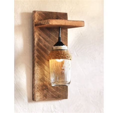 Decorative Wall Sconces Jar Farmhouse Wall Sconce Id Lights