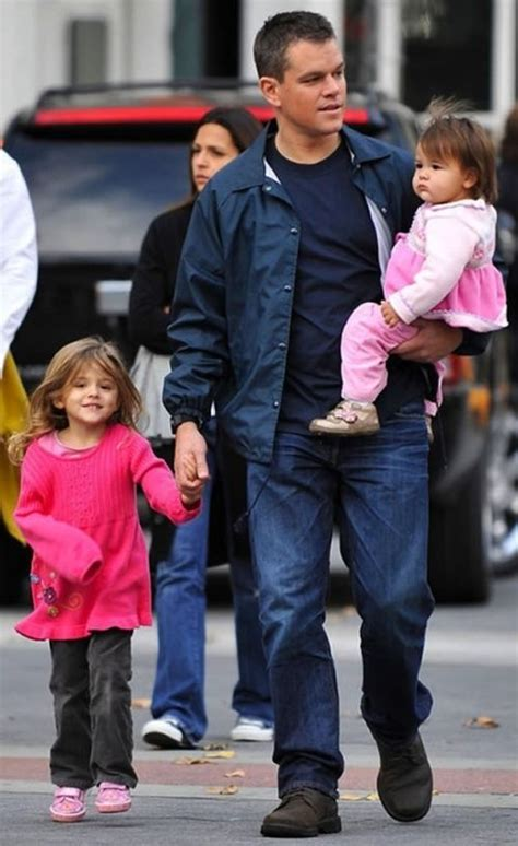 matt damon children dads 27 photos our and me