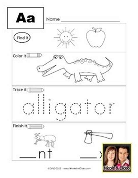 Response Letter Exercises 17 Best Images About Special Ed Letter Sounds On Activities Student And Literacy