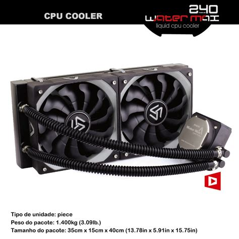 shop fans water cooled aliexpress com buy alseye 240 water cooler for computer