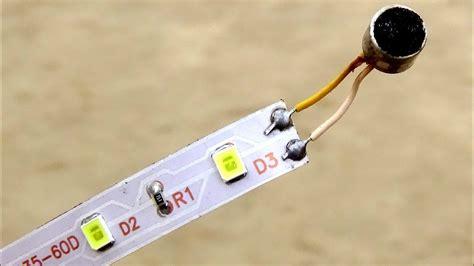 make led light strips make led light sound detector