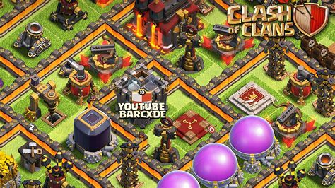 coc layout manager clash of clans war base 6 newhairstylesformen2014 com