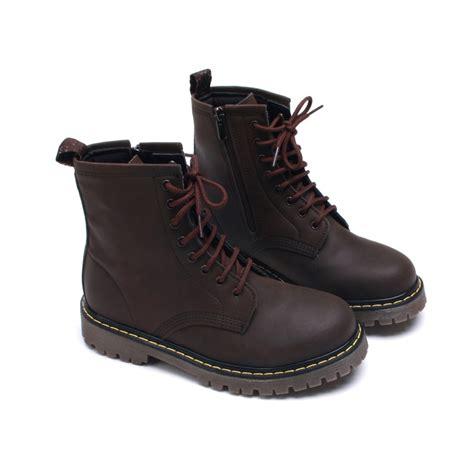 womens matt brown combat ankle boots