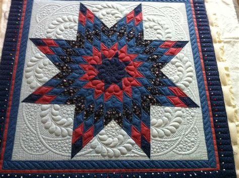 Lone Pattern Quilt by You To See Lone By Dunkelgod