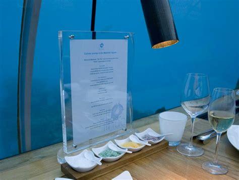 conrad maldives restaurant menus and review ihtaa underwater restaurant at conrad maldives rangali island