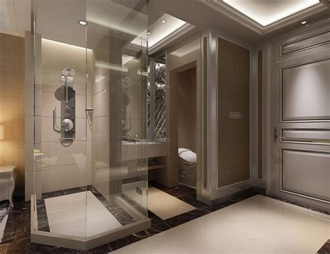 photoreal bathroom 3d model cgtrader