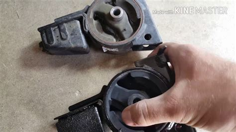2001 toyota corolla front motor mount removal and replacement