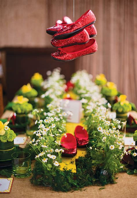 gorgeous wizard of oz inspiration hostess with