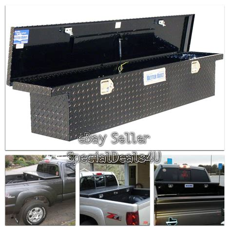 homemade tool boxes for back of trucks truck bed tool box storage low profile full size slimline