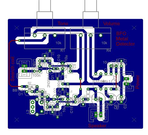 pcb design jobs home bfo metal detector no2 pcb layout