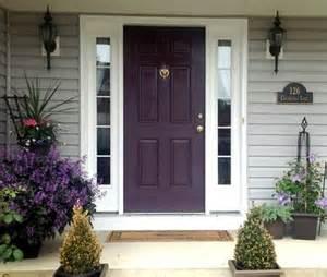 Purple Front Door Paint Colors What Are The Best Paint Colours For A Front Door