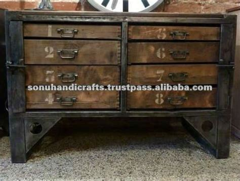 Handmade Dresser - indian industrial furniture india buy indian industrial