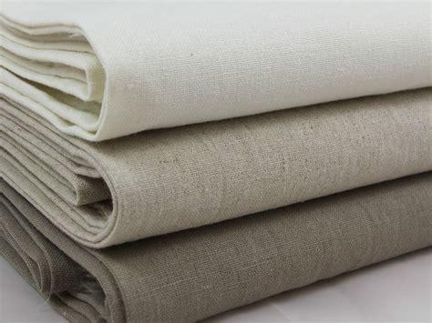 Linen Fabric Curtains Sb Japanese Basic Linen Cotton Plain Fabric Zakka Per Metre Ebay
