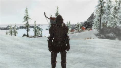 skyrim imperial scout armor imperial light armor replacement addon weapons and