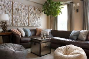 Decorating Ideas To Lighten A Room Lighten Up Living With Leather Furniture Blulabel