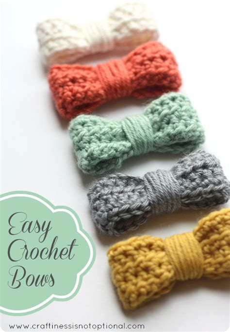 Les Verreries De Bréhat by Crochet A Day Crochet Bow Tutorial Make And Takes