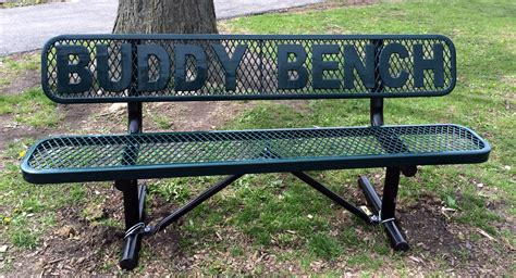 playground buddy bench i m calling it the next dark age