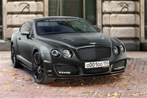 Topcar Bentley Continental Gt Blacked Out Car Tuning