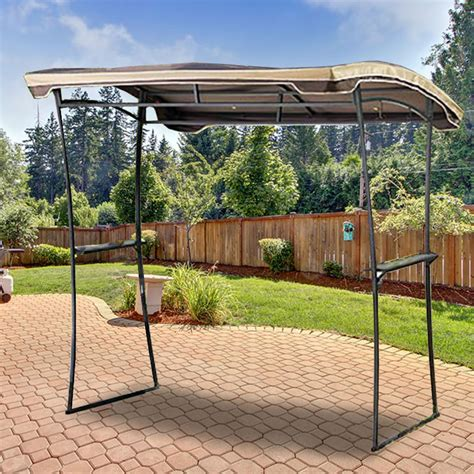 canopy tent with awning replacement canopy for grilling gazebo garden winds