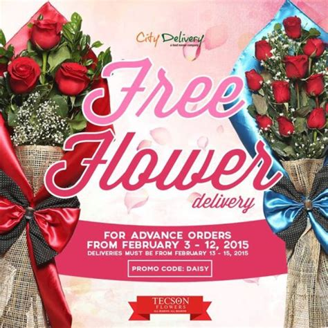 flower delivery for valentines free flower delivery s promo from city delivery