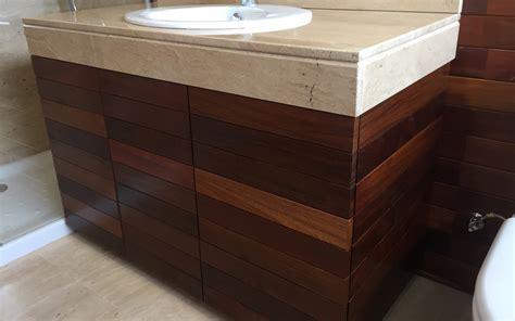 muebles de bao de madera with muebles de bao de madera