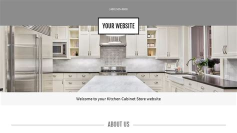 The Kitchen Cabinet Store by Kitchen Cabinet Store Website Templates Godaddy