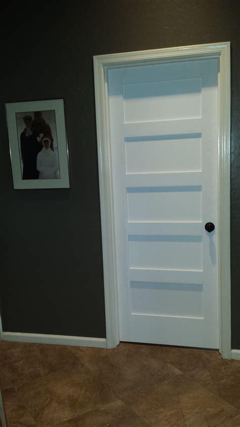 shaker door style replacing interior hollow doors with solid shaker