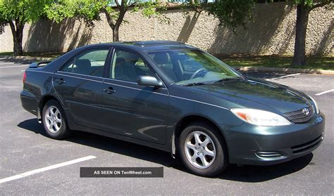 20002 Toyota Camry 2002 Toyota Camry Le Priced To Sell