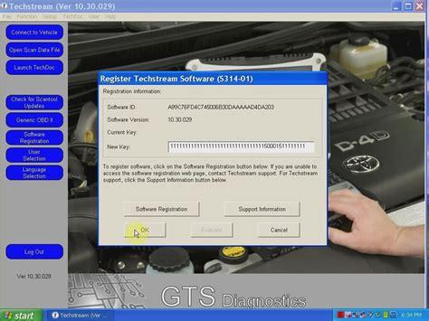 Toyota Techstream Software Mini Vci For Toyota Tis Techstream V10 30 029 Installation