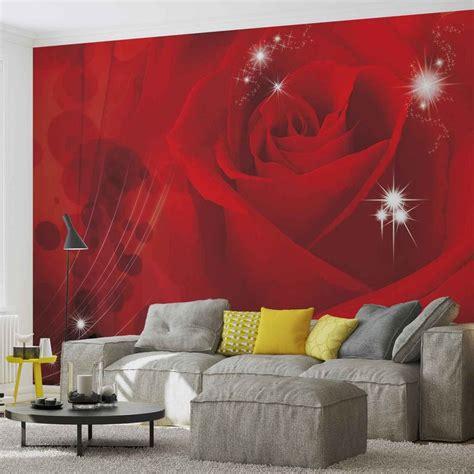 fiore rosa rossa carta da parati fiore rosa rossa europosters it