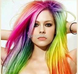 colored hair styles hairstyle haircolor march 2014