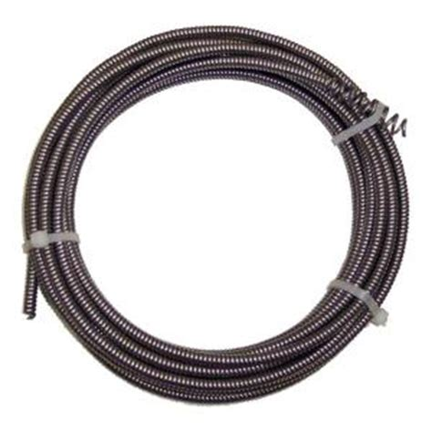 1 4 in x 25 ft drain auger cable bc96101 the home depot