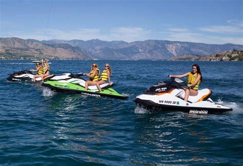 lake chelan boat and jet ski rentals jet ski rentals lake chelan chelan parasail watersports