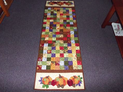 Table Runner Quilt by Quot And Quilting Quot Quot Harvest Table Runner Quot