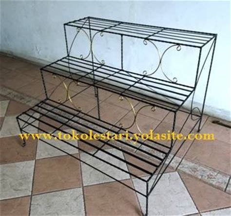 Jual Rak Besi Pot Bunga dinomarket 174 pasardino rak standing pot besi tanaman hias