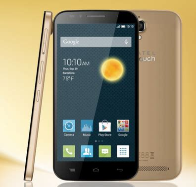 Hp Android Alcatel One Touch 10 ponsel android kamera 13mp harga 1 jutaan