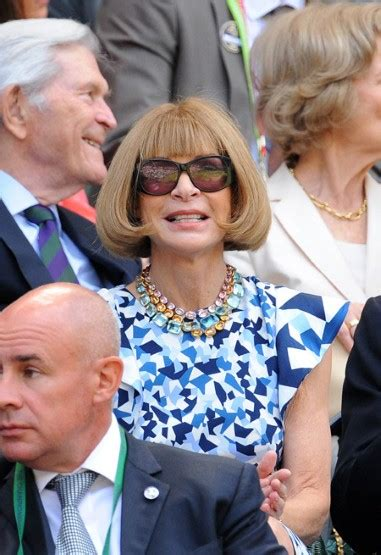 Wintour And Tess Daly by Liza S Reload De Las Modas En Wimbledon 2013