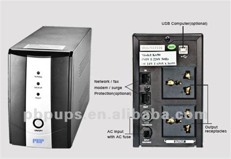 line interactive ups 600va with inside battery buy line