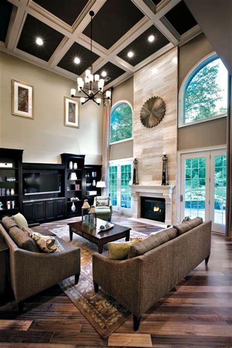 toll brothers living room 36 stylish and timeless coffered ceiling ideas for any room shelterness
