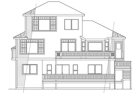 Home Plans For Sloped Lots by 23 Inspiring House Plans For Sloping Lots In The Rear