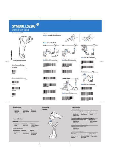 one programming symbol scanner programming manual related keywords