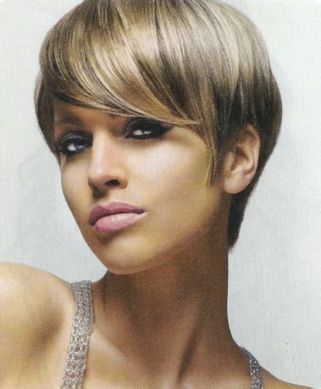 brown and blonde pixie cuts pixie hair cute