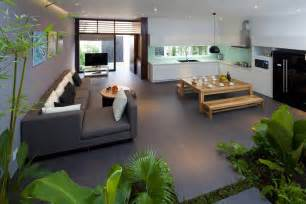 open kitchen living room floor plans a fresh home with open living area courtyard