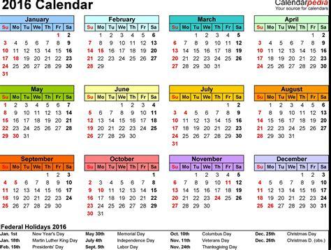 2016 Year Calendar Zile Libere 238 N 2016 Doar şapte Dintre Cele 12 Libere