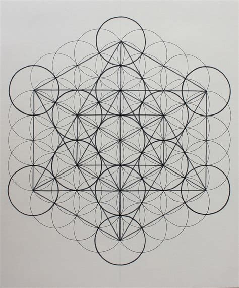 metatron s cube art math and life alyssa yeager
