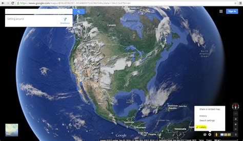 view map earth re remove labels on new maps earth satellite view