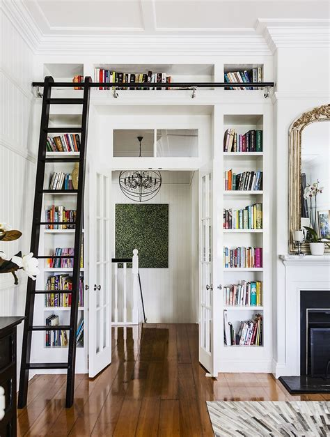 ladder for bookcase with rail 15 collection of bookcases with ladder and rail