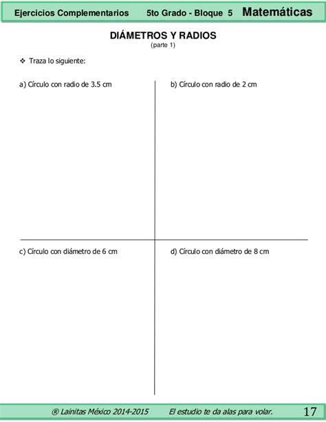 matematicas 5to grado bloques 3 4 y 5 by sbasica issuu 5to grado bloque 5 ejercicios complementarios