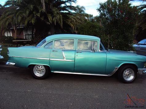 55 Chevy 4 Door by Chevy 1955 Chevrolet 55 Chev 210 4 Door Sedan Weld Wheels